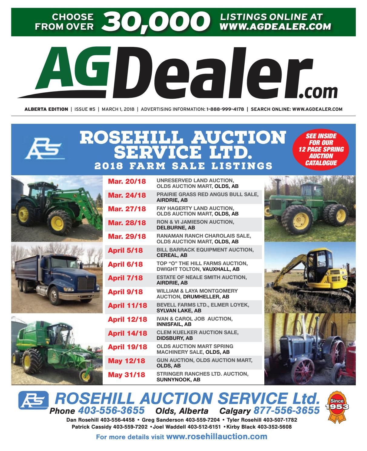 Wheel Amp Deal Alberta March 1 2018 By Farm Business Campbell Hausfeld Wg2064 Parts Diagrams For Arcwelder Communications Issuu