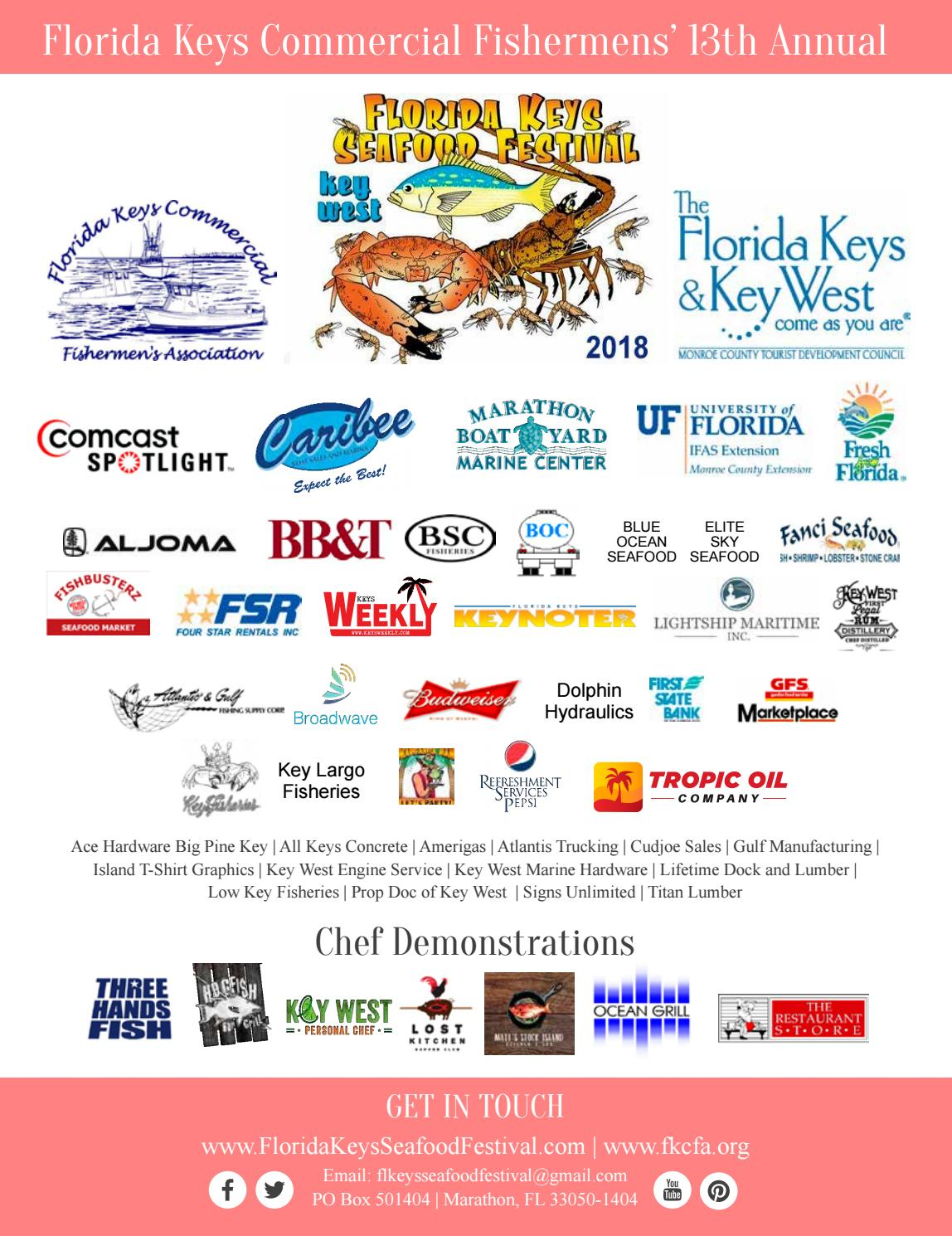 Kw seafood 2018 by Keys Weekly Newspapers - issuu