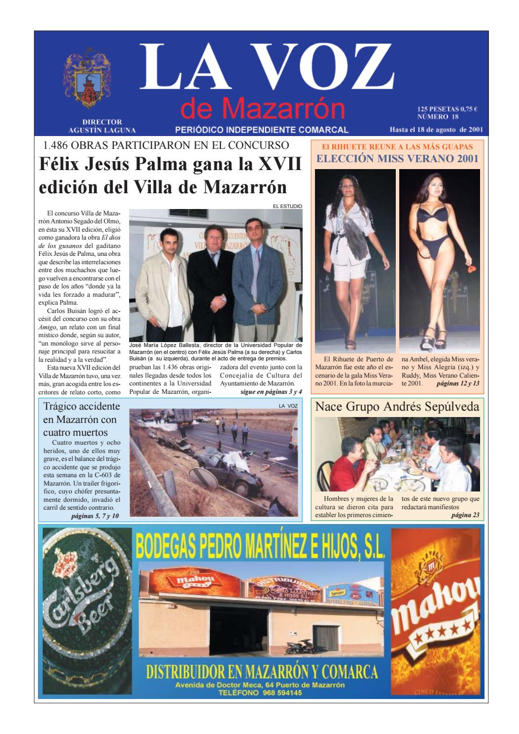53a14e8d03ded La voz 18 by La Voz de Mazarrón (Periódico) - issuu