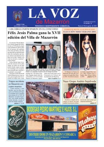 La voz 18 by La Voz de Mazarrón (Periódico) - issuu 662b1fb2852