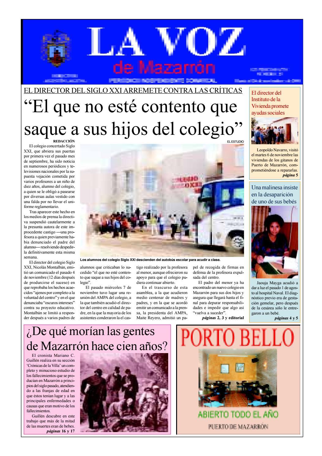 La voz 25 by La Voz de Mazarrón (Periódico) - issuu