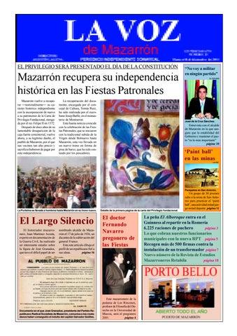 98373c0e808b8 La voz 26 by La Voz de Mazarrón (Periódico) - issuu