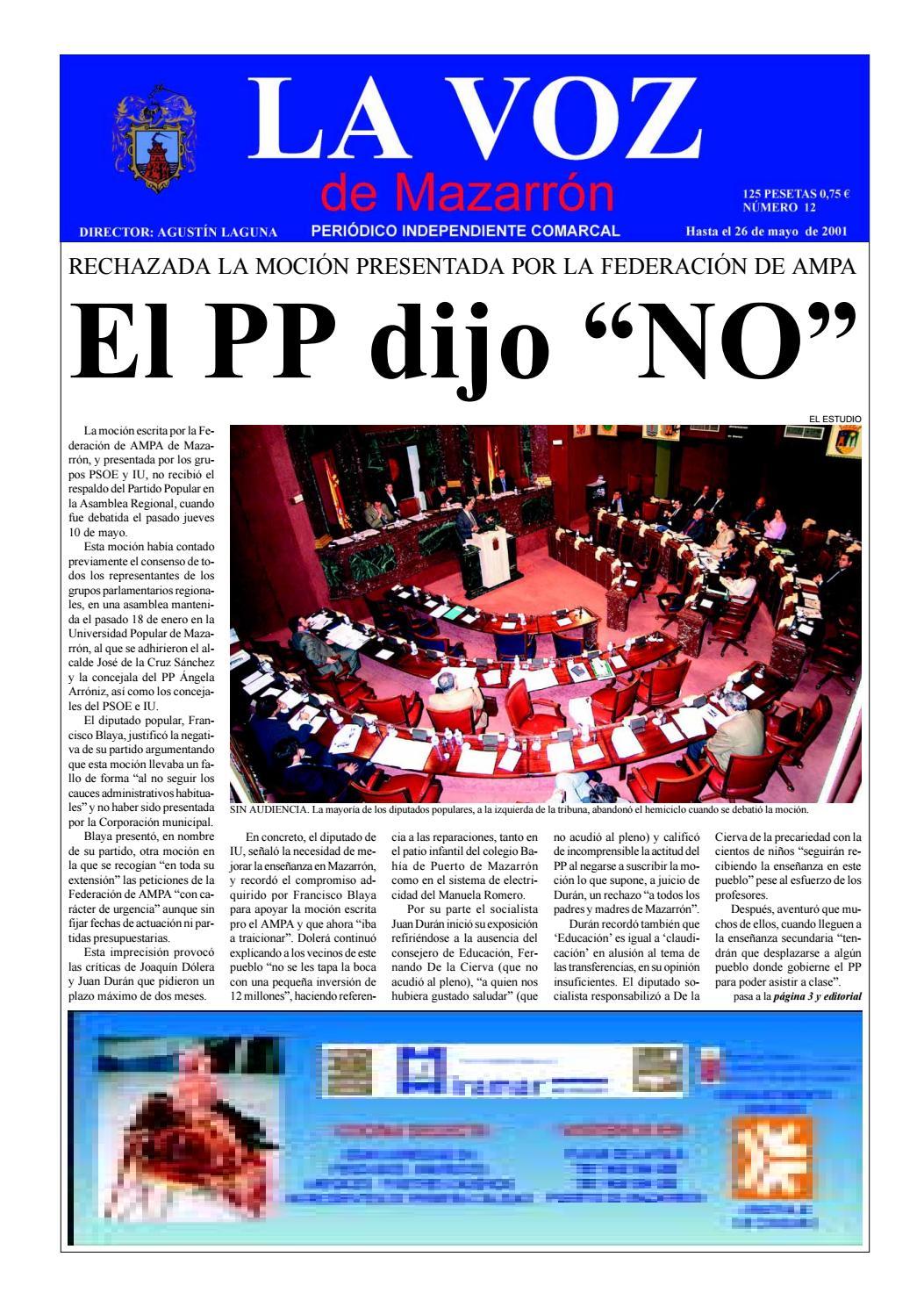 La voz 12 by La Voz de Mazarrón (Periódico) - issuu 6c3515a2b53c7
