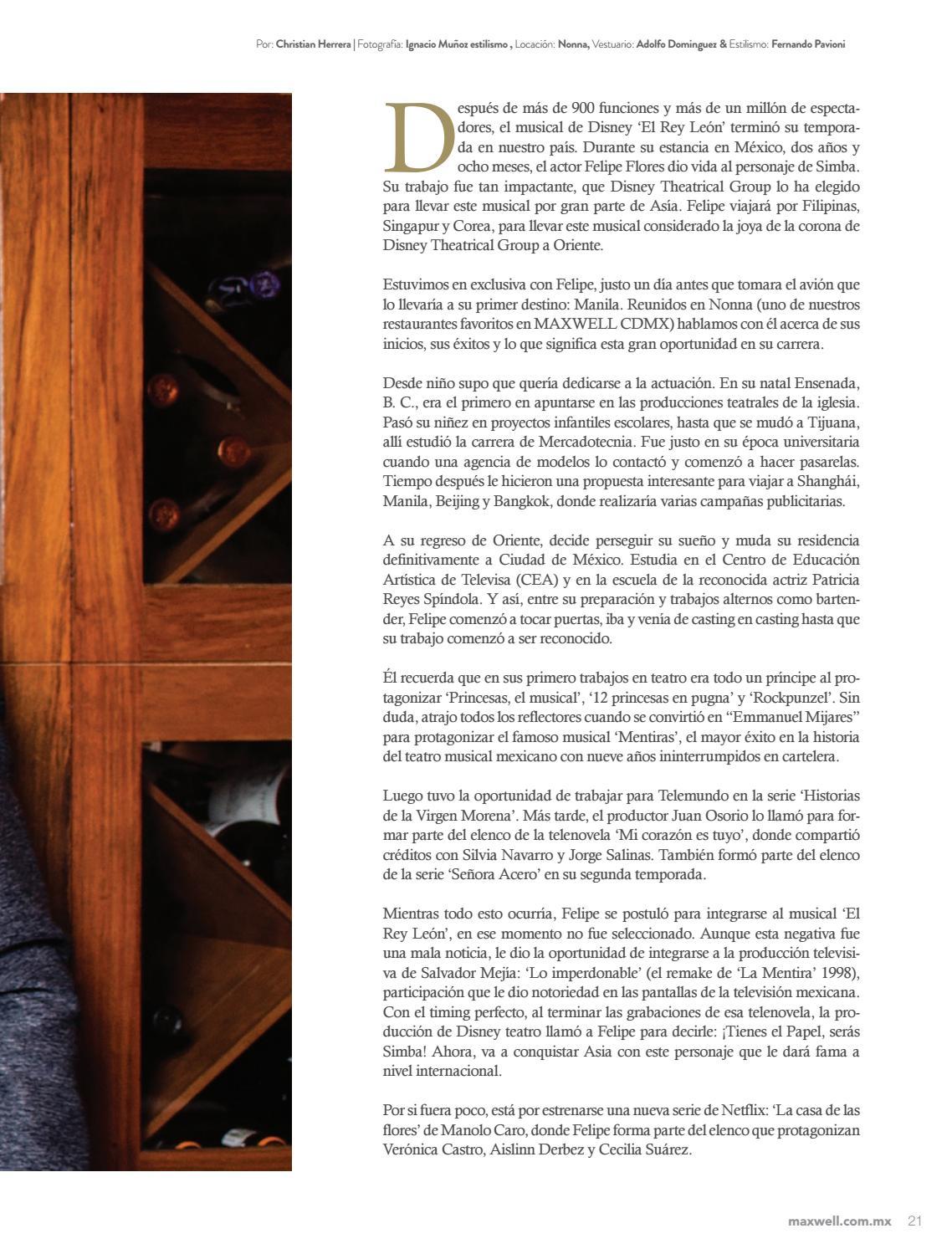 Revista Maxwell CDMX  37 by Grupo Editorial Maxwell - issuu