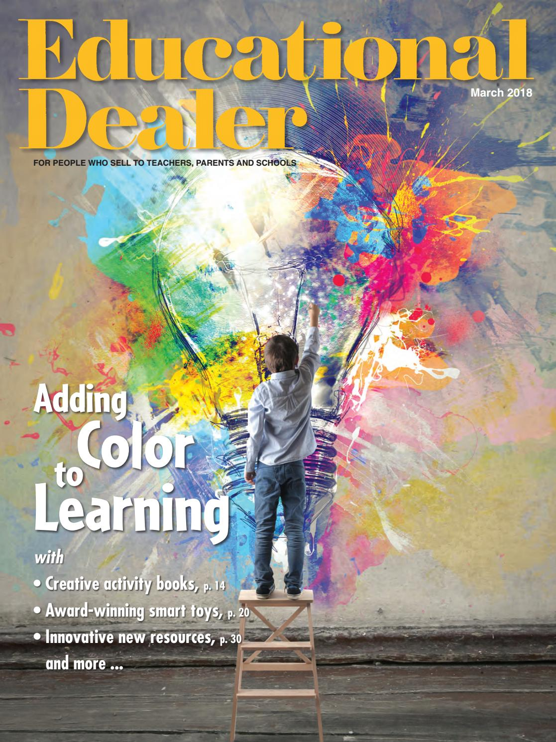 Educational dealer mar 2018 by fahy williams publishing issuu fandeluxe Image collections