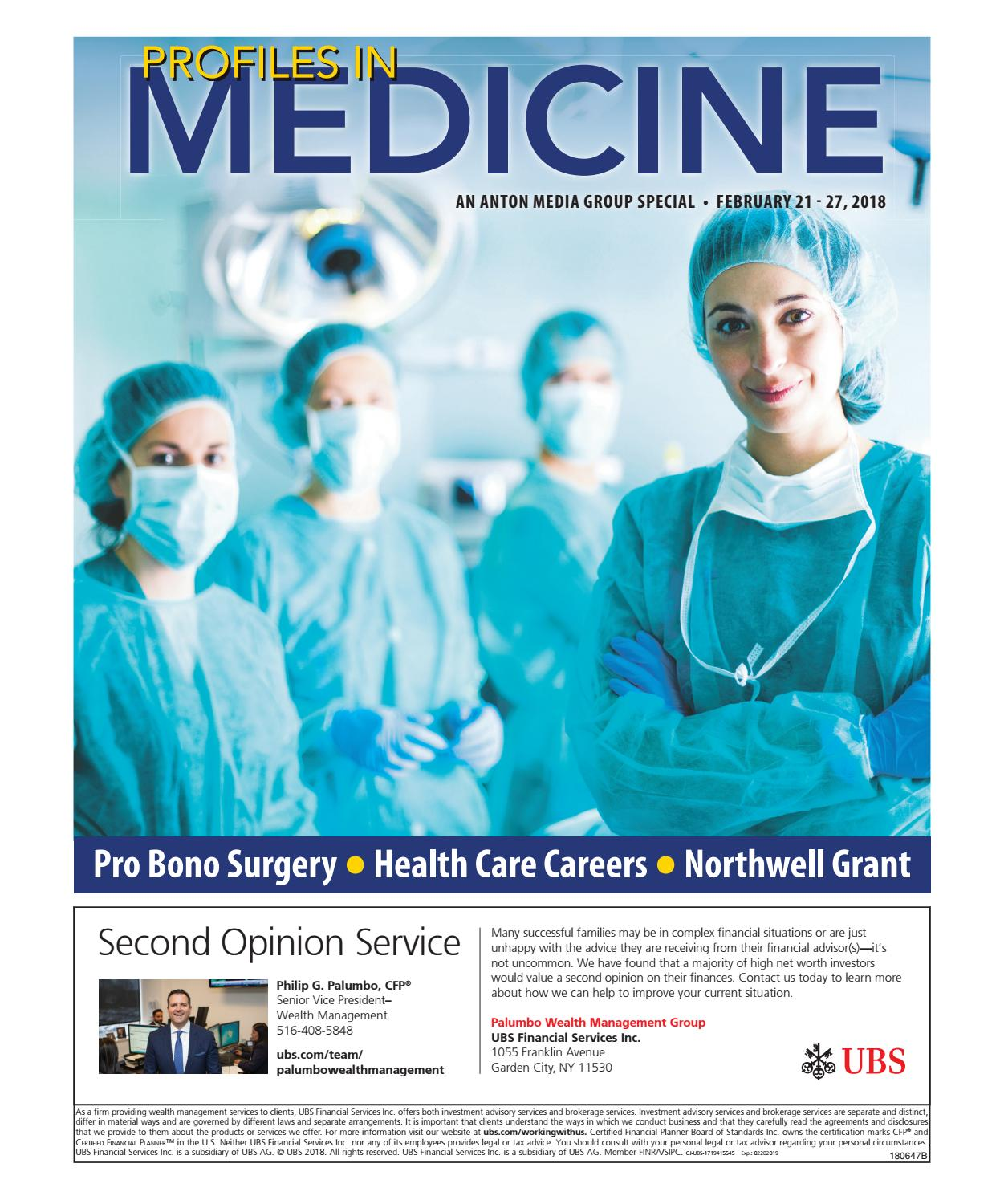 Profiles In Medicine 02-21-2018 by Anton Community