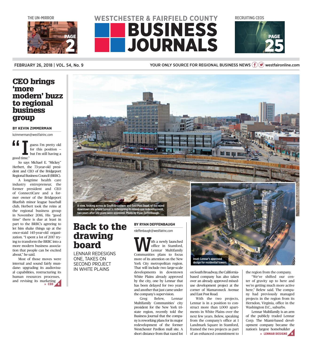 Westchester Fairfield County Business Journals 02 26 19 Combined By Wag Magazine Issuu