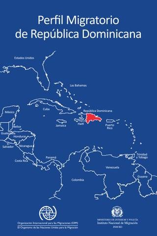 Primer Perfil Migratorio de la República Dominicana. by Instituto ...