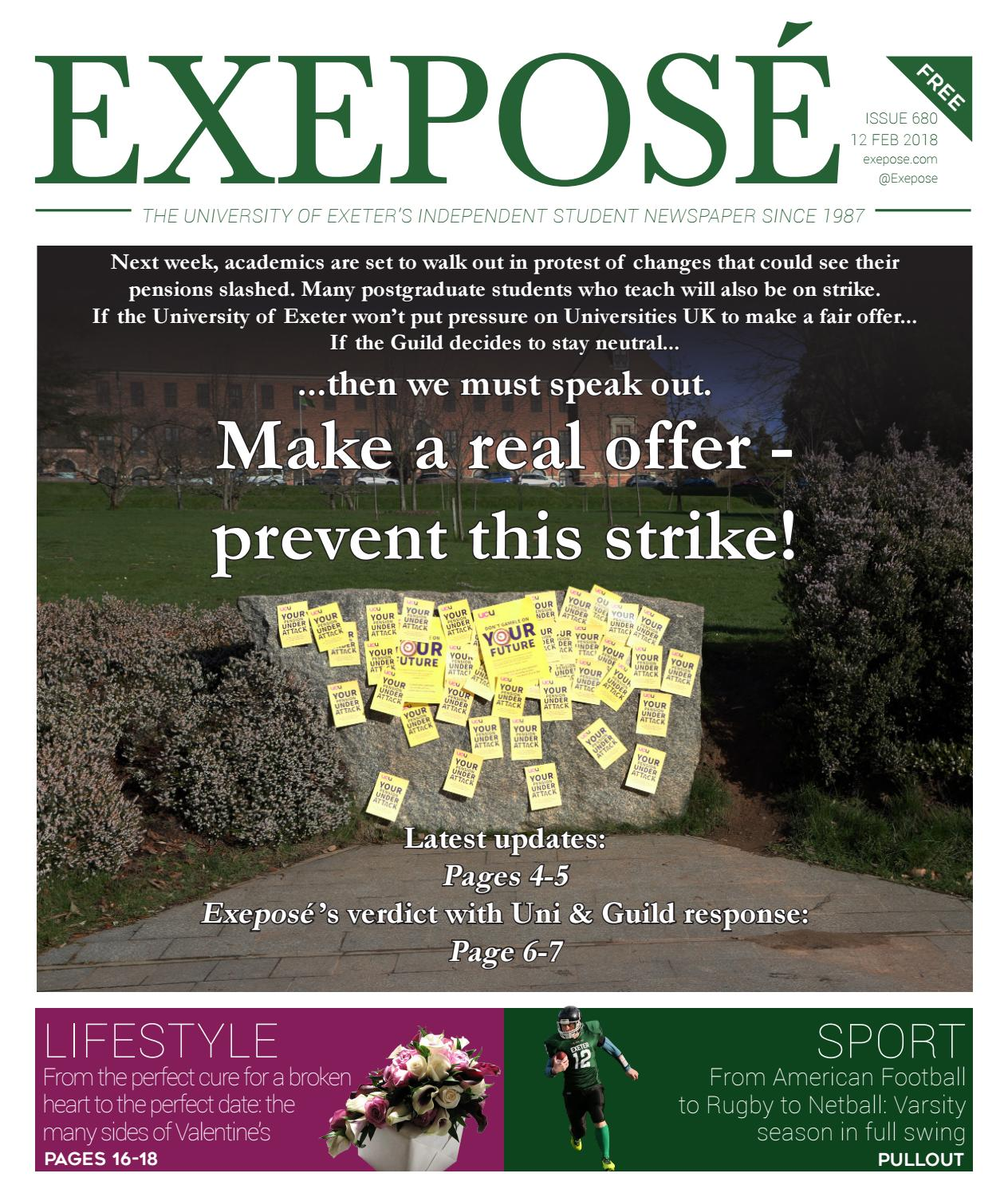9024fa11b0a Issue 680 13 12 02 18 by Exeposé - issuu