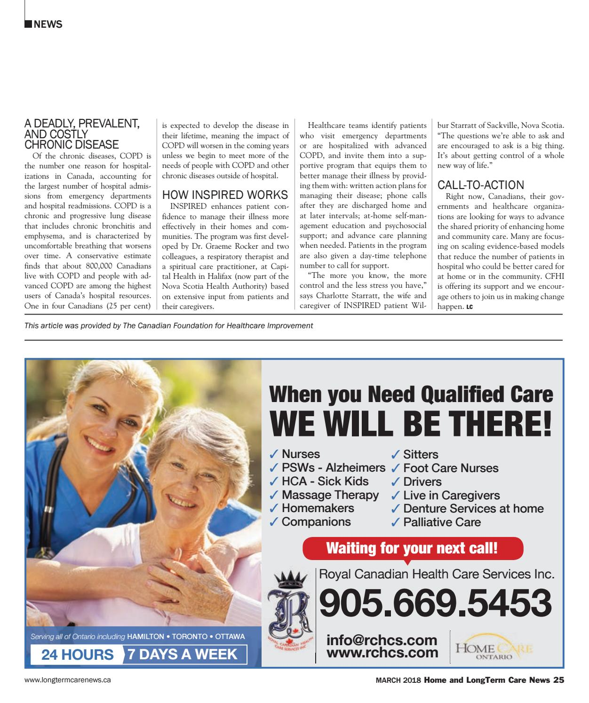 LongTerm Care News March 2018 by Hospital News - issuu