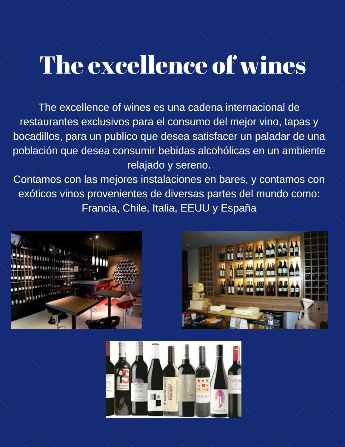 Blue and white illustrated wine menu (2) by Gabriel ...