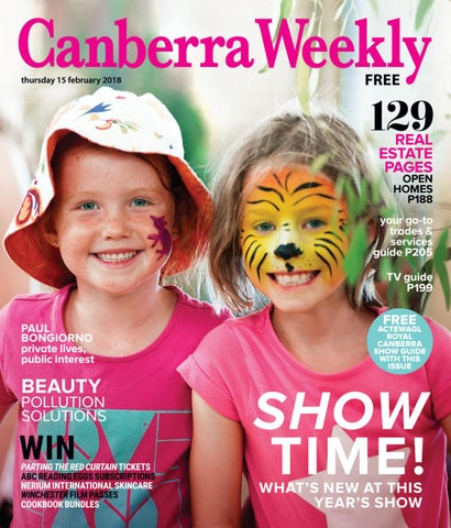 0e879585b412 15 February 2018 by Canberra Weekly Magazine - issuu