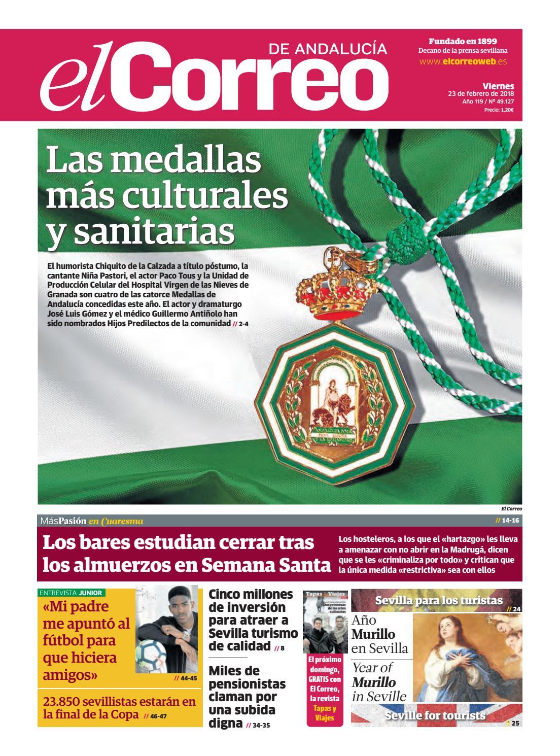 bf061c279 23.02.2018 El Correo de Andalucía by EL CORREO DE ANDALUCÍA S.L. - issuu