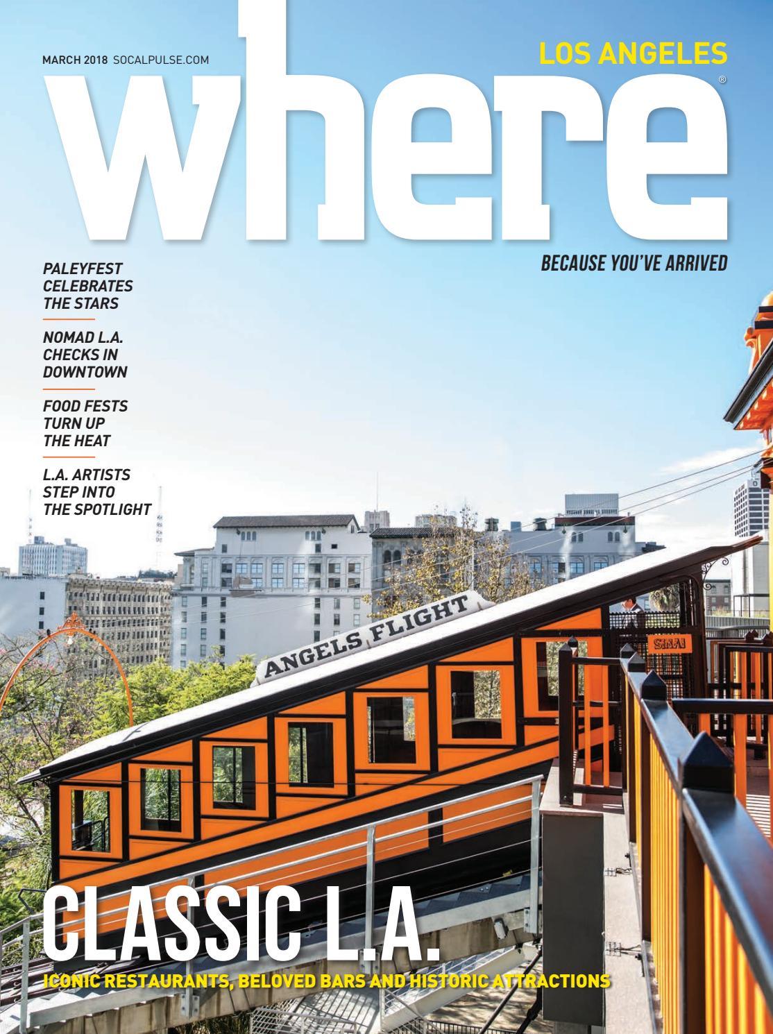 3660f950296b WHERE Los Angeles Magazine March 2018 by SoCalMedia - issuu