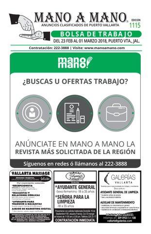 Bolsa de trabajo y restaurantes 1114 by MANO A MANO - issuu 936713d2776f7