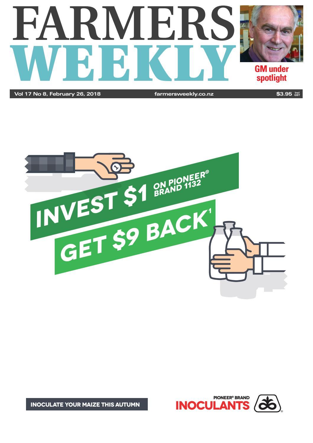cb99a2fa63 Farmers Weekly NZ February 26 2018 by Farmers Weekly NZ - issuu