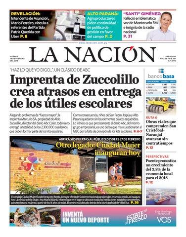 DIARIO LA NACIÓN - EDICIÓN 8.267 by La Nación - issuu