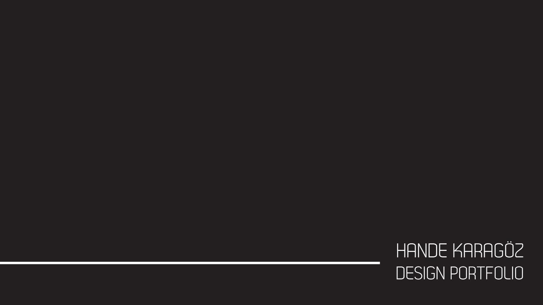 Lighting Design Portfolio By Hande