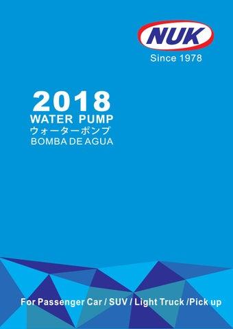 7 Passenger Suv >> 2018 nuk water pump catalog (car) by NUK Auto Parts Taiwan - Issuu
