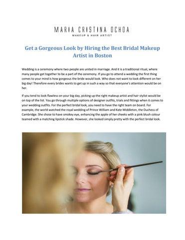 Best bridal makeup artist in boston