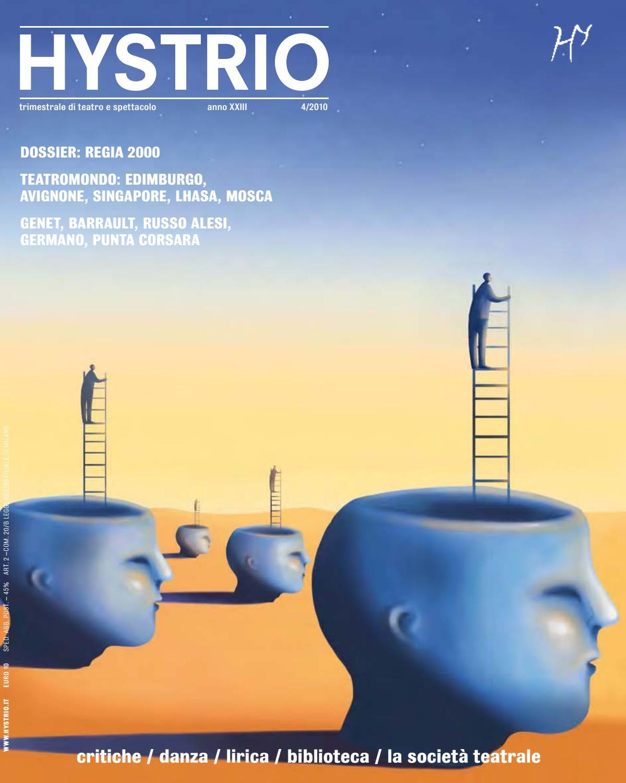 Hystrio 2010 4 ottobre-dicembre by Hystrio - issuu 7e1c128a477a