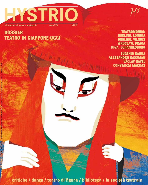 Hystrio 2012 1 gennaio-marzo by Hystrio - issuu 3c0a231a2e3