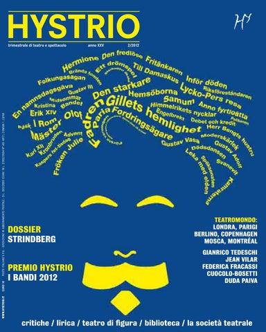 Hystrio 2012 2 aprile-giugno by Hystrio - issuu 0c6f98c846b