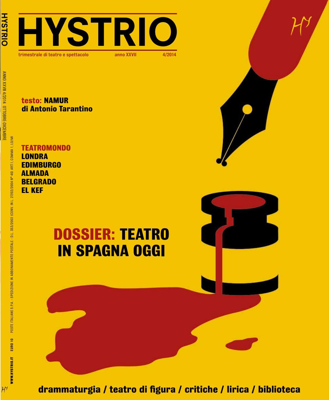 Hystrio 2014 4 ottobre dicembre by Hystrio issuu