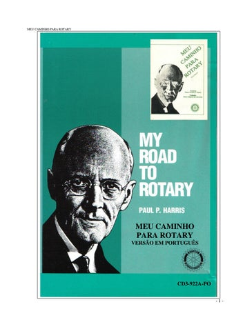 083879ecf40 My road to Rotary by joao perdigao - issuu