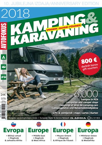 Camping Karta Europa.Camping Guide Europe 2018 Part 2 Poland Uk Africa Middle East