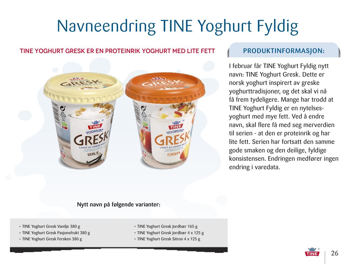 proteinrik yoghurt
