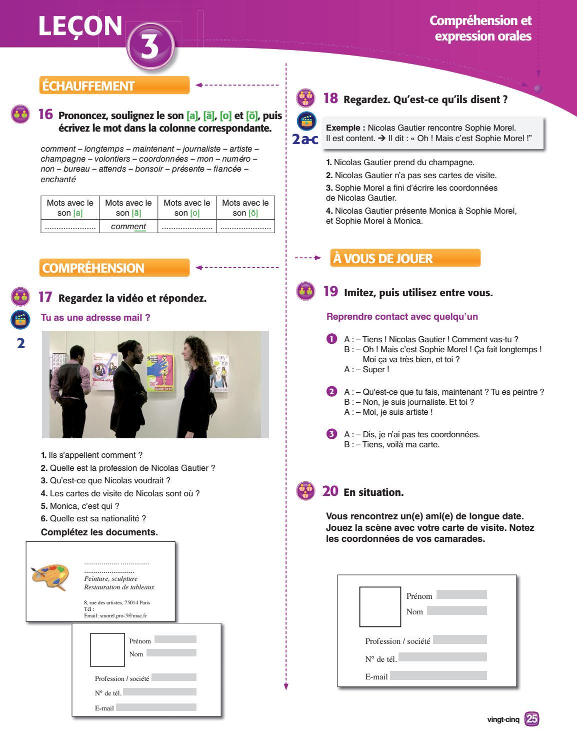 Toulouse Carte De Visite Extrait Interactions 1