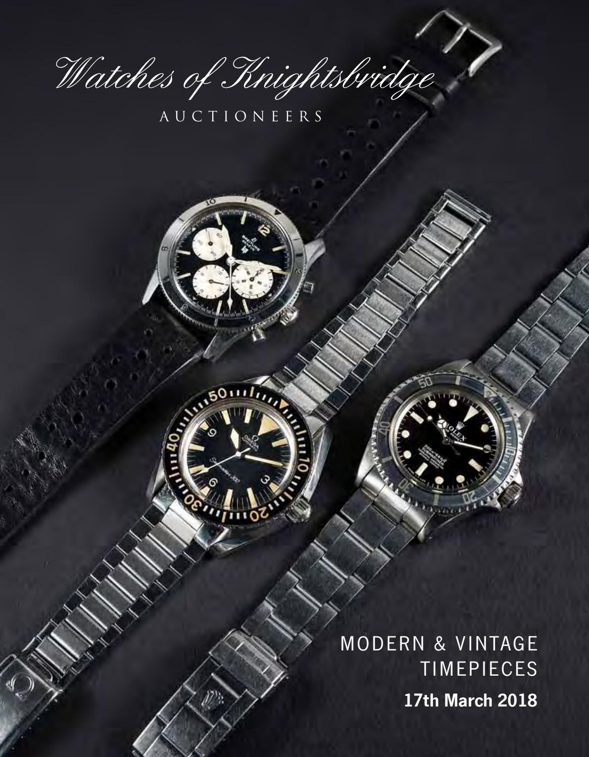 Watches Of Knightsbridge By Auction Technology Group Issuu Rolex Parts Diagram For Cal 3035 1 Gent39s Datejust As It