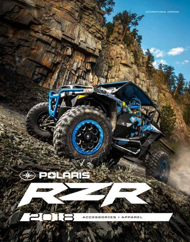NTS Brosjyre Polaris RZR 2018 | Tilbehør | Styling | Utstyr