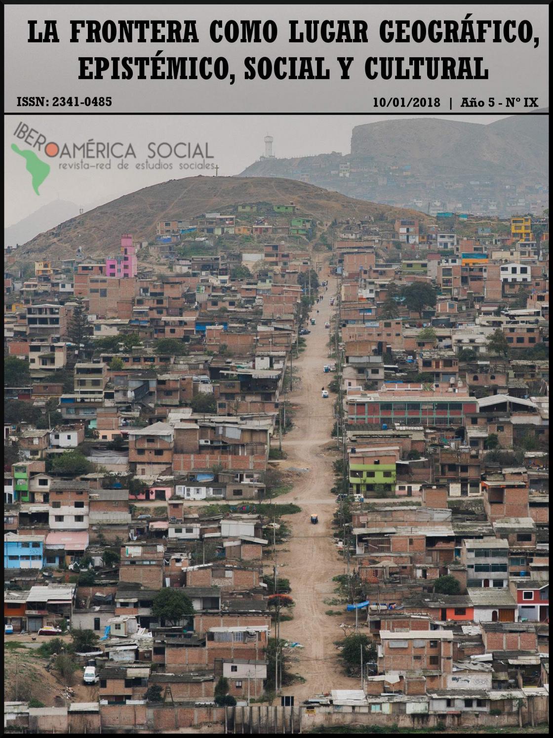 La Frontera Como Lugar Geográfico Epistémico Social Y