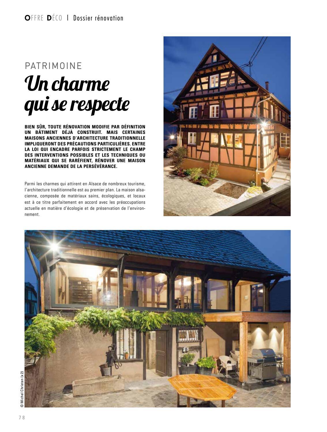 Rénover Une Maison Alsacienne offre deco 67 #1jfleury67 - issuu
