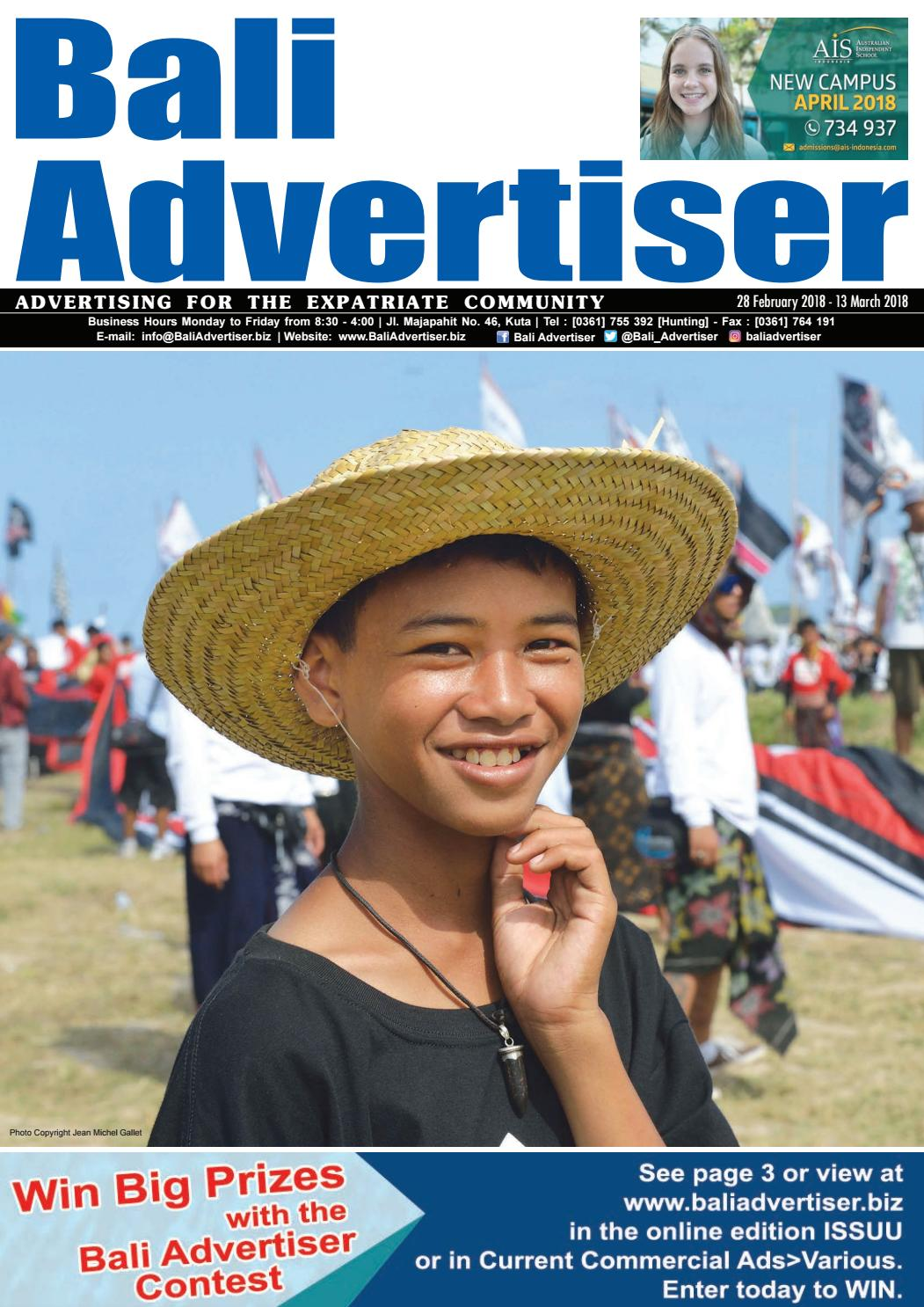 Ba 28 February 2018 By Bali Advertiser Issuu Baruu Map Voucher 25juta Bonus 50k