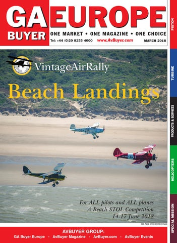GA Buyer Europe March 2018 by AvBuyer Ltd  - issuu