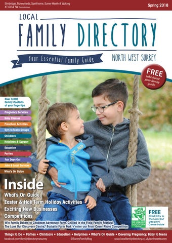483a629b12f2 Local Family Directory North West Surrey Spring 2018 by Family Life ...