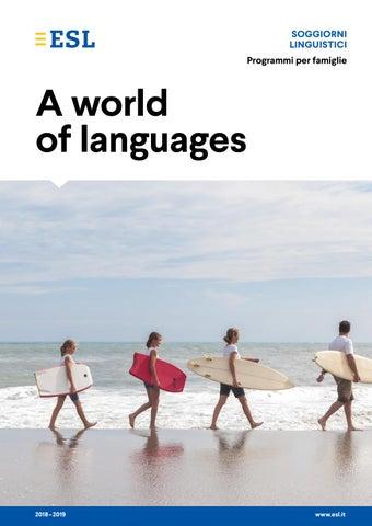 Soggiorni linguistici per tutta la famiglia by ESL Education - issuu