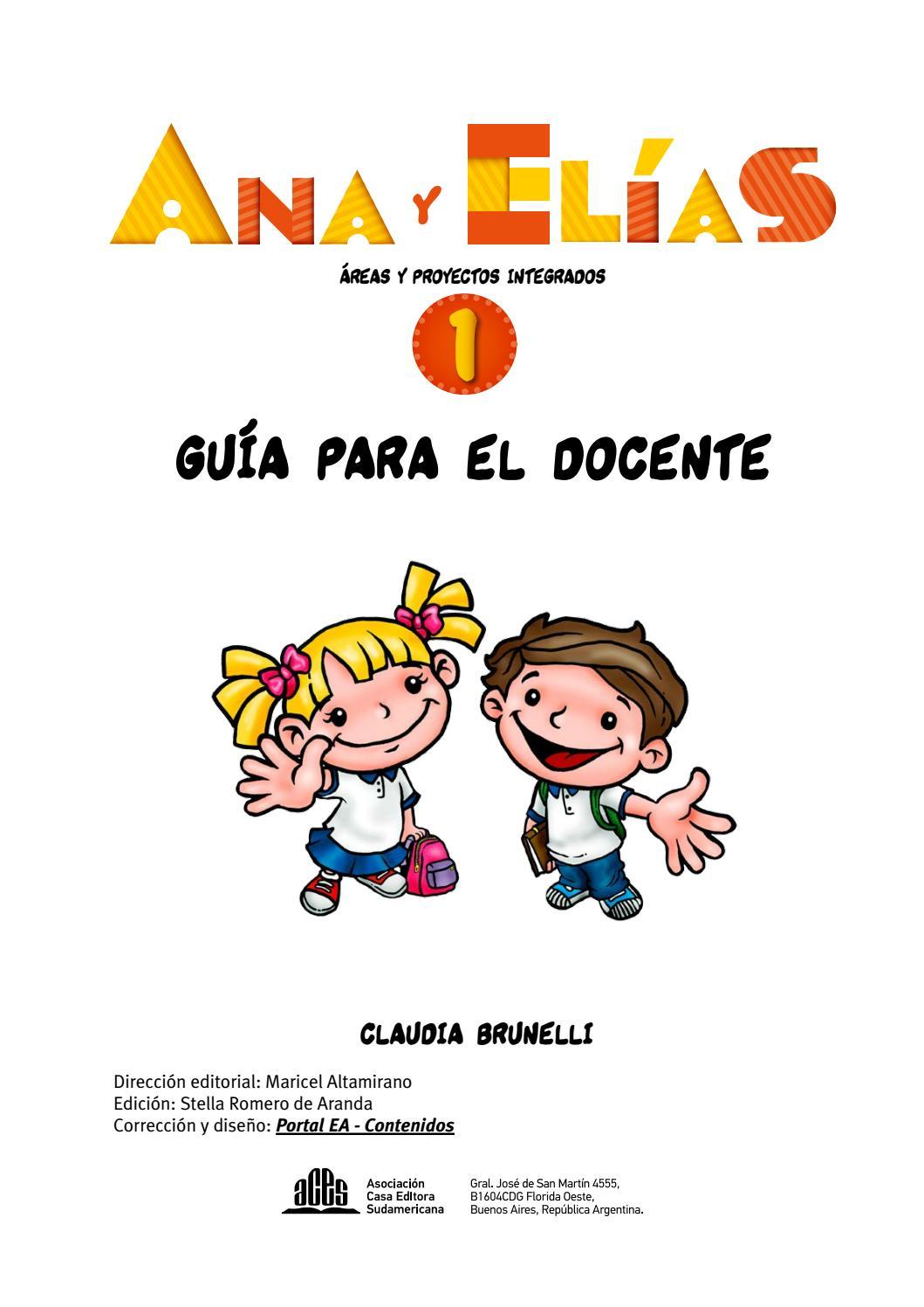 GD - Ana y Elías 1 by Editorial ACES - issuu