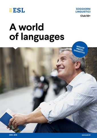Soggiorni linguistici per adulti by ESL Education - issuu