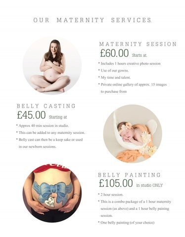 Page 6 of Some options for maternity session