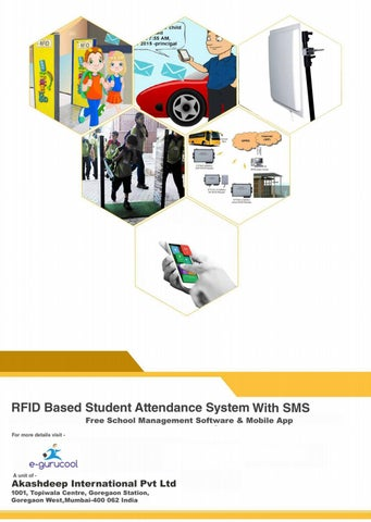 Uhf Rfid Attendance System With SMS notification by e-gurucool - issuu