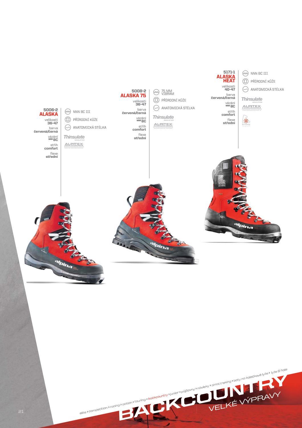 Katalog Alpina Bezecka By INA SPORT Spol S Ro Issuu - Alpina alaska
