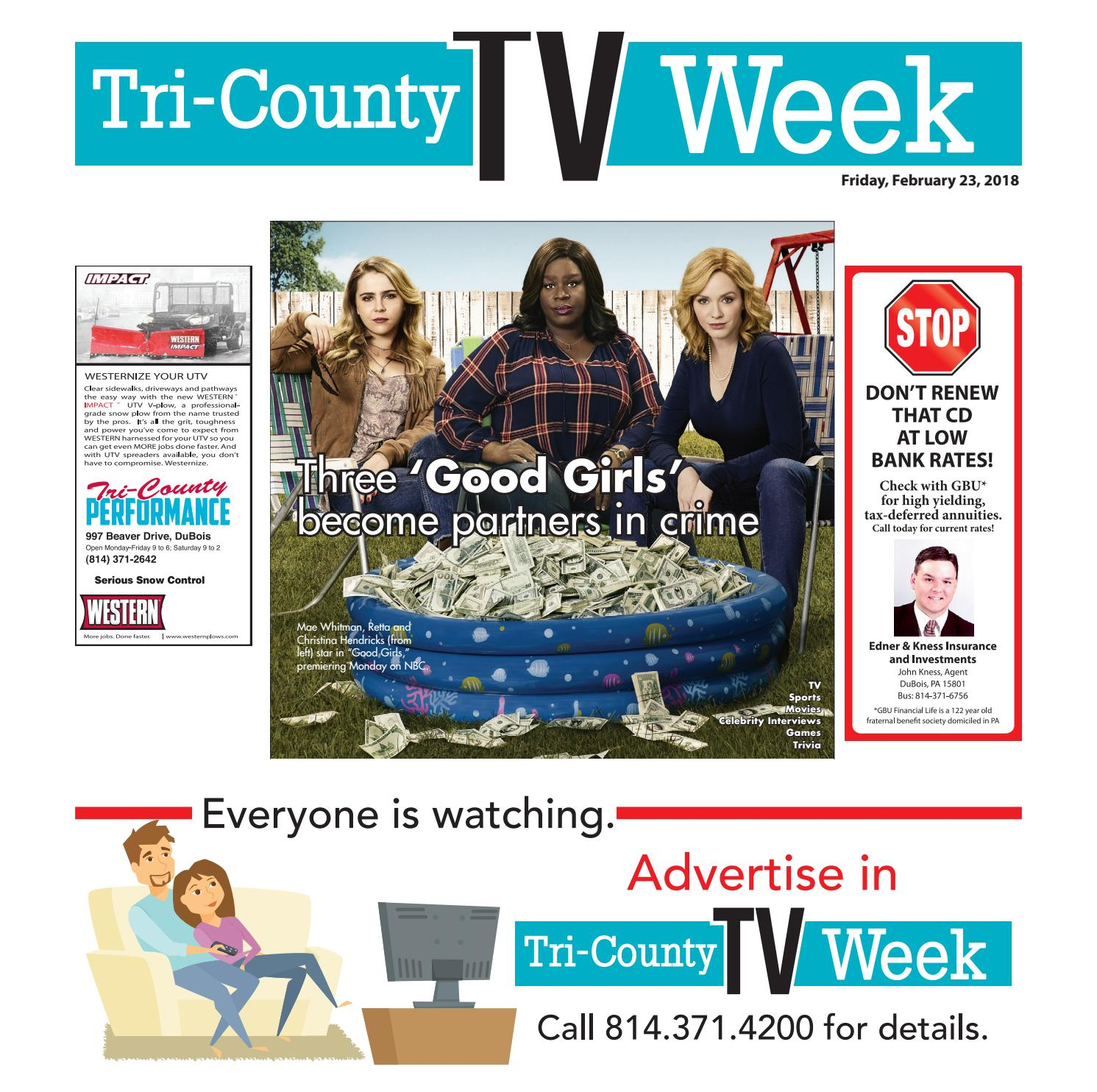 290de3993f23c3 TV WEEK 02 23 2018 by Tri-County TV Week - issuu