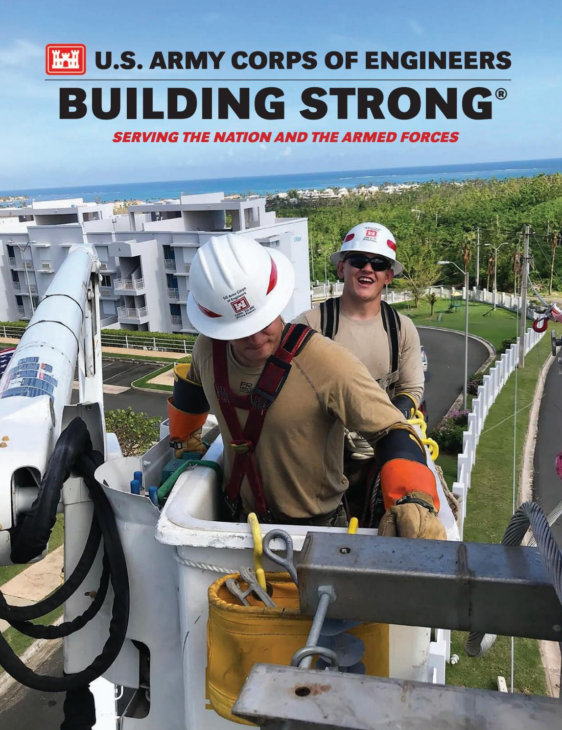 b35f18d97313 U.S. Army Corps of Engineers  Building Strong 2017-2018 Edition by  Faircount Media Group - issuu