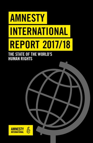 Amnesty International Report 2017/2018 by Canada Venezuela