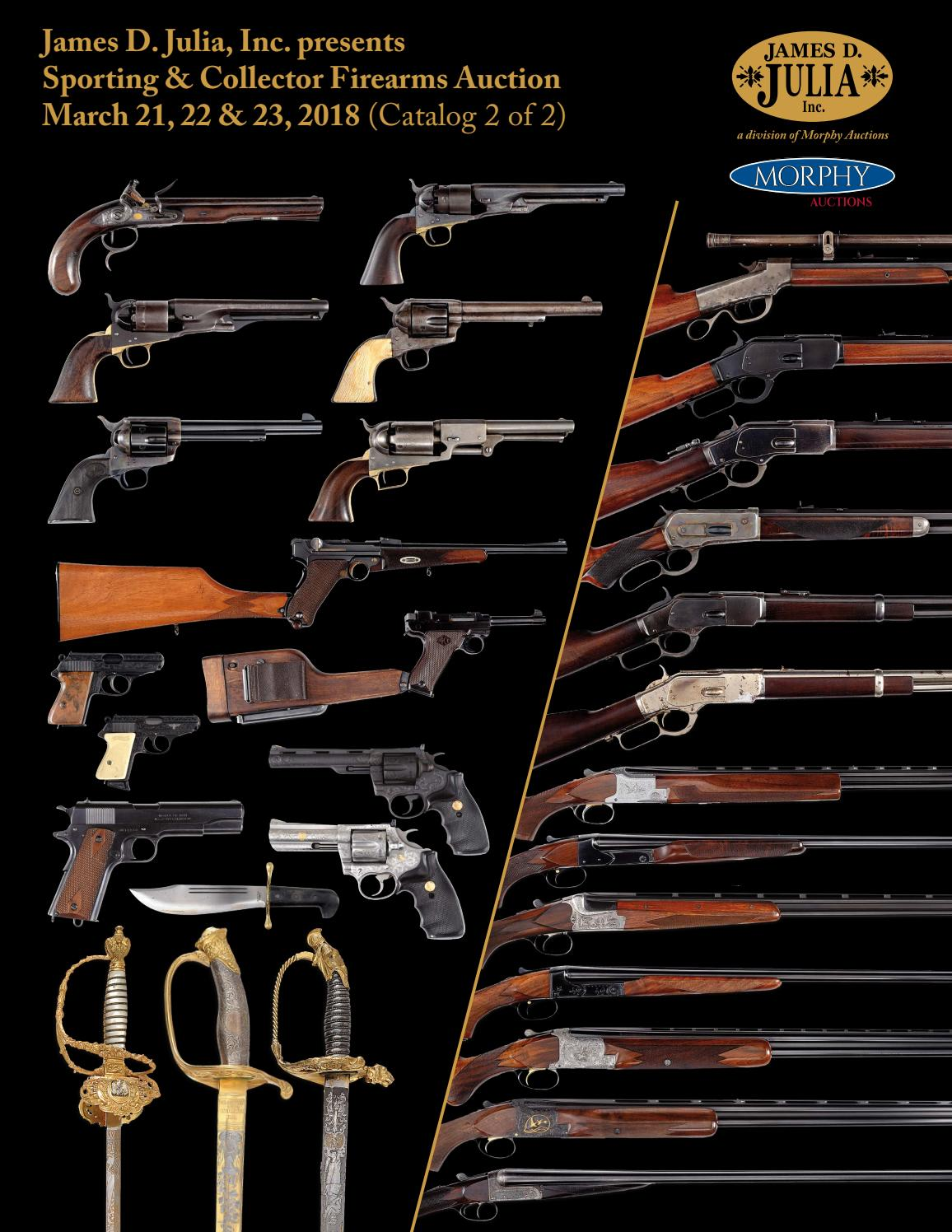 James D  Julia's Sporting & Collector Firearms Auction by James D