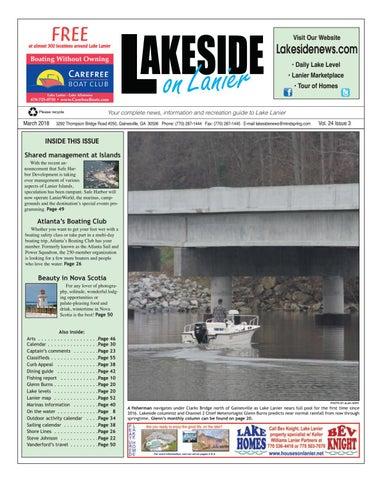 Lakesdieonlaniermarch2018 by Lanier Publishing Inc  - issuu